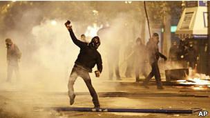 Волнения в Афинах