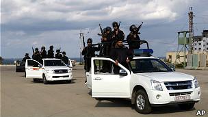 Силы безопасности ХАМАС в Газе