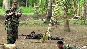 Fuerzas de Operaciones Especiales en Filipinas