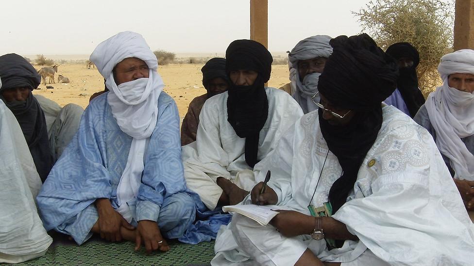 لاجؤون في النيجر