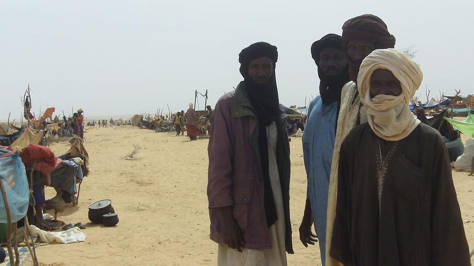 لاجؤون من مالي