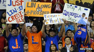 Fans de Jeremy Lin