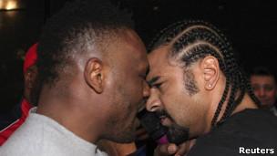 Чисора продолжил скандал за пределами ринга, теперь уже со своим соотечественником
