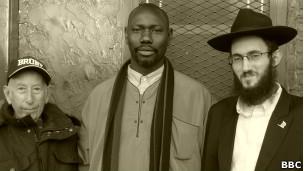 Imán y Rabino mezquita de Nueva York
