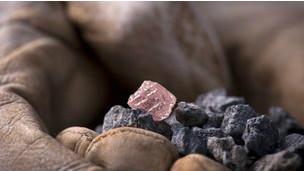 澳大利亚发现史无前例的大粉红钻石