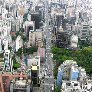 Avenida Paulista (Foto: Wikimedia Commons)