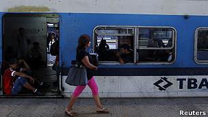 Tren en Argentina
