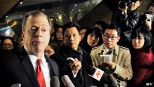 美国国务院对朝政策特别代表戴维斯(23/02/2012)