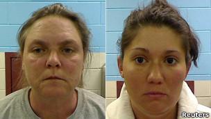 Joyce Garrard e Jessica Hardin (Reuters)