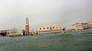 Venecia vista desde la laguna