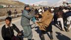 Unjuk rasa menentang pembakaran Quran di Afghanistan.
