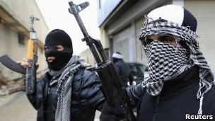 مخالفان مسلح در سوریه