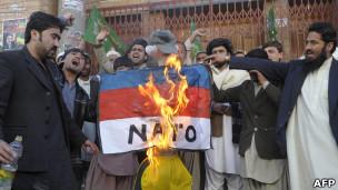 阿富汗抗议者