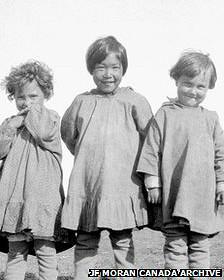 کودکان بومیان کانادا