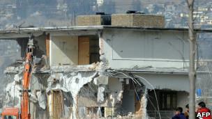 Casa de Bin Landen em Abbottabad é demolida