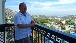 Embaixador Igor Kipman em Porto Príncipe (Foto: João Fellet)