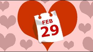 2月29日Love heart