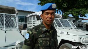 Major brasileiro Custódio Apolônio Santos da Silva