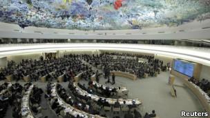 联合国人权理事会(资料图片)