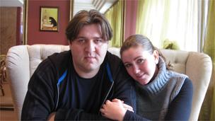 陶里亚蒂的记者夫妇柳德米拉和萨沙