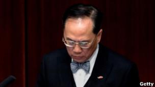 香港特區行政長官曾蔭權
