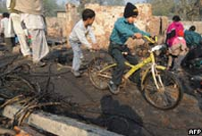 Delhi slum