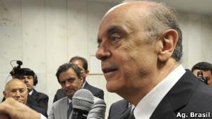 José Serra, em foto de arquivo de dezembro de 2011 (Ag. Brasil)