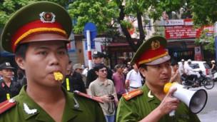 Công an Việt Nam (hình minh họa)