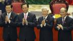 Bốn lãnh đạo Việt Nam (ảnh 2011)