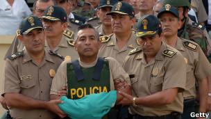 Artemio, líder capturado de Sendero Luminoso