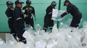 Producción de cocaína en Perú
