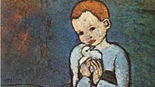 Niña con Paloma, de Picasso