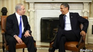Obama e Netanyahu. Reuters
