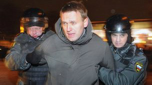 俄罗斯反对派领袖阿列克西•纳瓦尼