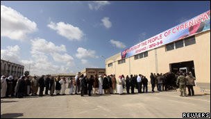 Des Libyens de l'Est.