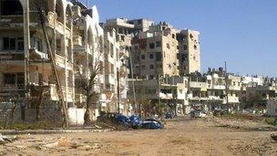 محله بابا عمرو حمص