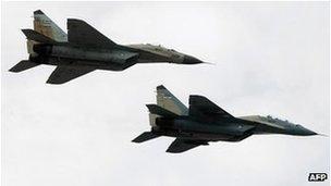 Aviões iranianos
