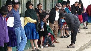 Población indígena en Ecuador