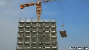Edificios de 30 pisos... en sólo quince días
