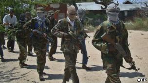 Militantes somalíes
