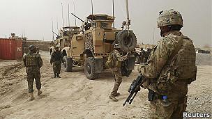 tropas estadoundienses en Kandahar