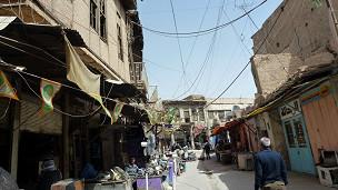 أحد أسواق بغداد