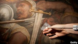 Endoscopia al cuadro de Vasari