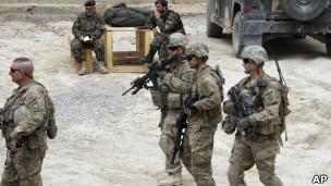 سربازان آمریکایی در قندهار