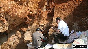Excavación en Maludong