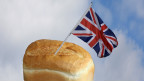 Британский флаг в буханке хлеба