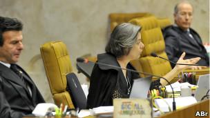 STF durante votação da Ficha Limpa, em fevereiro de 2012. | Foto: José Cruz/Abr