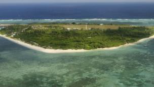 Một hòn đảo thuộc quần đảo Trường Sa đang có tranh chấp