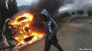 Protestas en Aysen