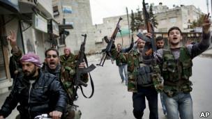 افراد ارتش ملی سوریه